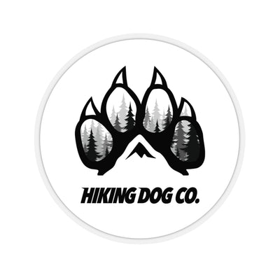 Hiking Dog Co. Forest Logo Sticker