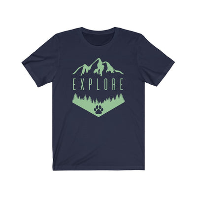 Explore With Dogs T-Shirt (Unisex)