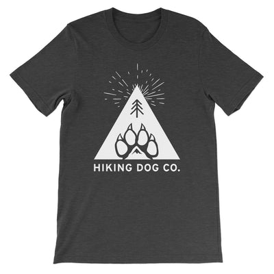 Dark Grey Hiking Dog Co. Logo Shirt | Hiking Dog Co.