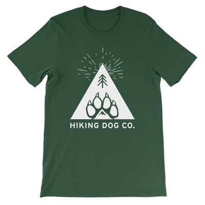 Forest Green Hiking Dog Co. Logo Shirt | Hiking Dog Co.