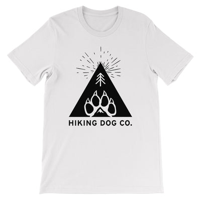 White Hiking Dog Co. Logo Shirt | Hiking Dog Co.