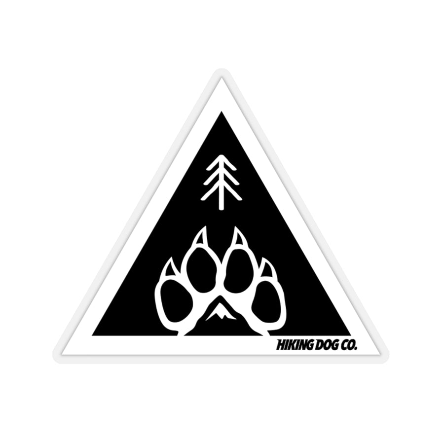 Hiking Dog Co. Triangle Sticker
