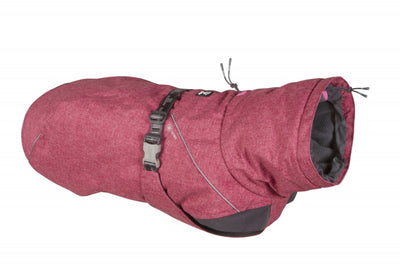 Expedition Dog Parka in Beetroot