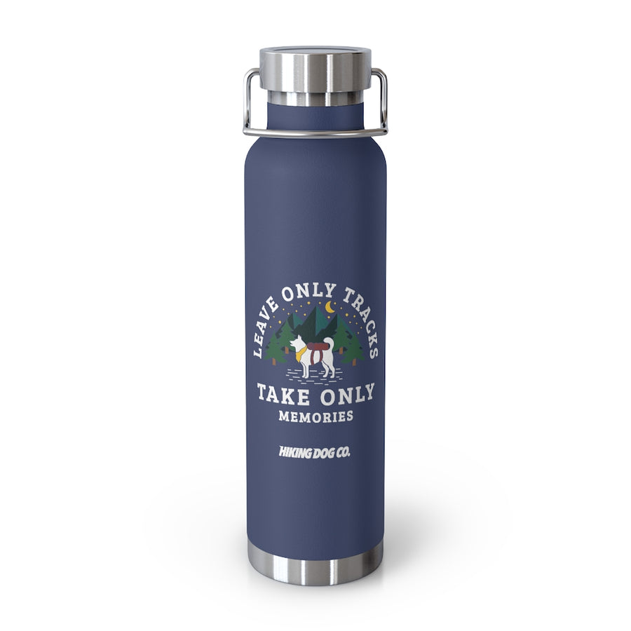 Leave Only Tracks Insulated Reusable Bottle