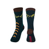 Time May Tell Men's Crew Hiking Socks
