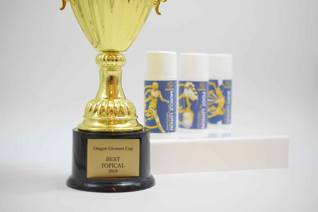 Angel wings Oregon Growers Cup for Best Topical
