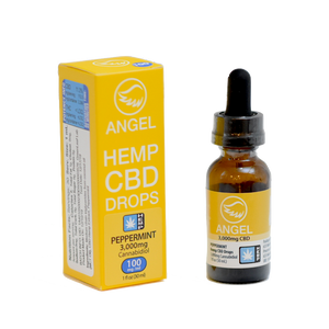 Angel Hemp CBD - 3,000 mg - Peppermint