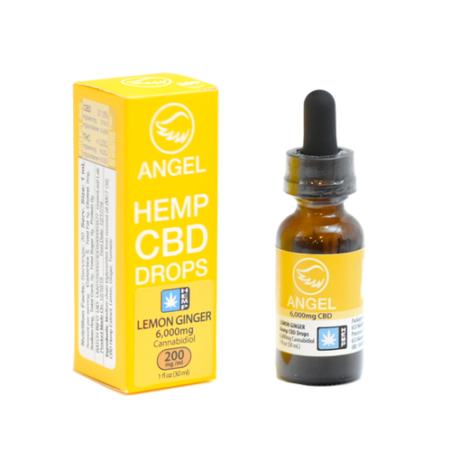Angel Hemp CBD - 6,000 mg - Lemon Ginger