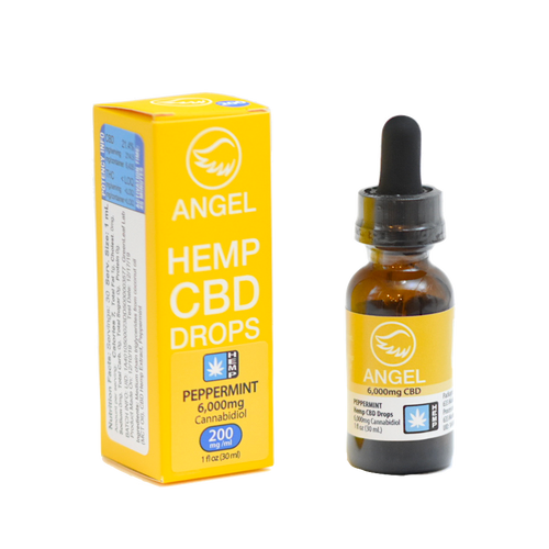 Angel Hemp CBD - 6,000 mg - Peppermint