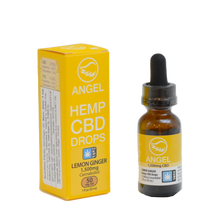 Load image into Gallery viewer, Angel Hemp CBD - 1,500 mg - Lemon Ginger