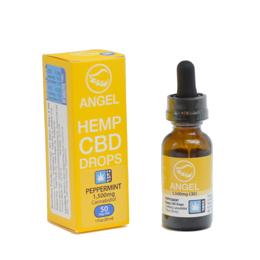 Angel Hemp CBD - 1,500 mg - Peppermint