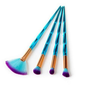 Set de 4 Pinceaux de Maquillage - Pretty Mili