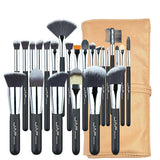 Set de 24 Pinceaux de Maquillage Professionnels - Pretty Mili
