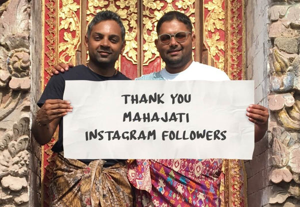 Thank You Instagram Followers - Mahajati