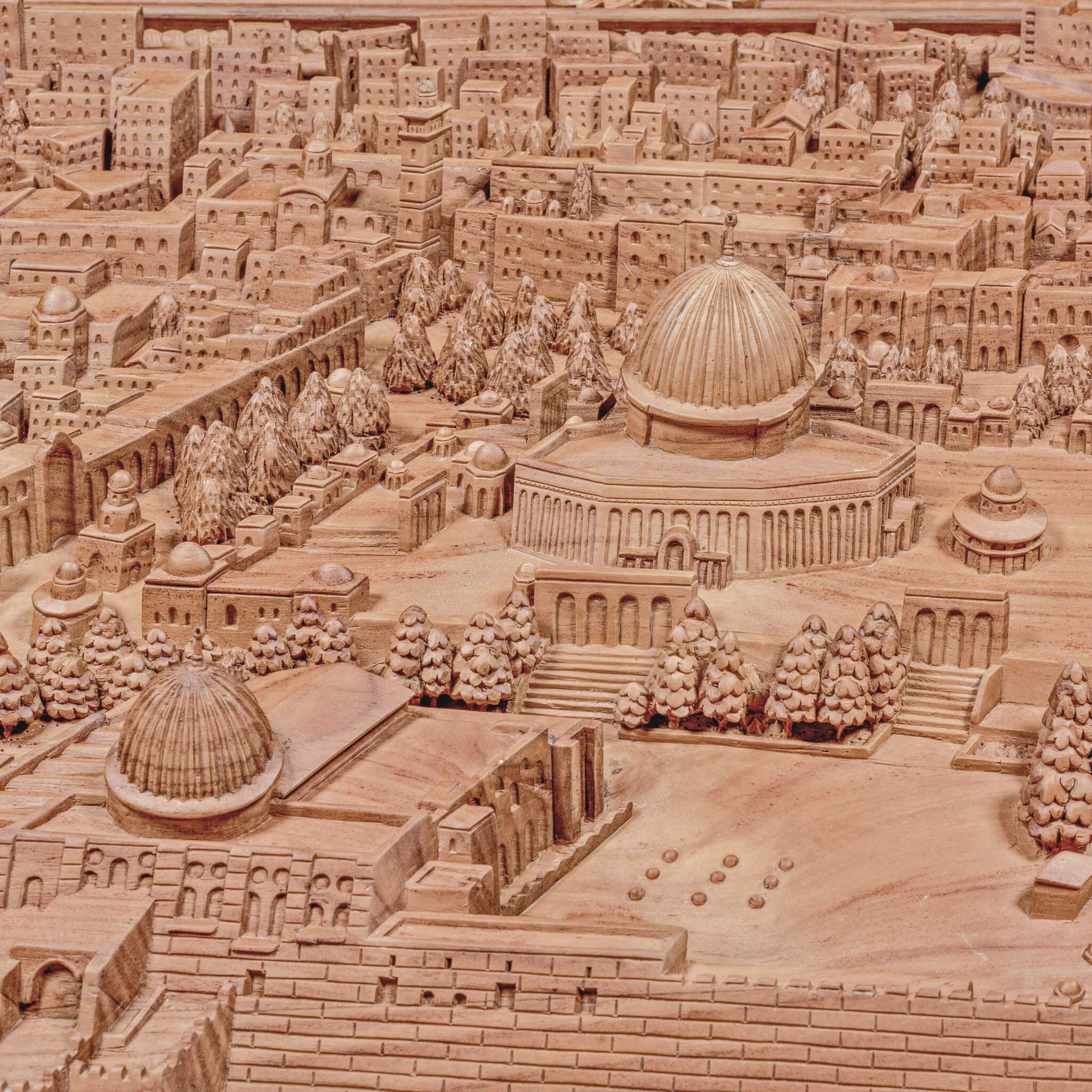 Al-Aqsa - 3D Skyline - 120cm Length x 75cm Height - Mahajati