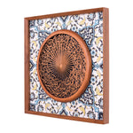 Al-Fatiha - Full 3D - 85cm Length x 85cm Height - Tile Frame 1 - Mahajati