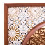 Al-Fatiha - Full 3D - 85cm Length x 85cm Height - Tile Frame 10 - Mahajati