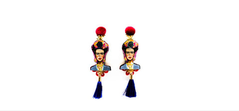 Long Frida Earrings