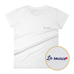 T-Shirt brodé - LA SOURCE - Boobz Shop