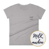 T-Shirt brodé - MILK MACHINE - Boobz