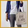 Tote bag - EAT LOCAL - Boobz Shop