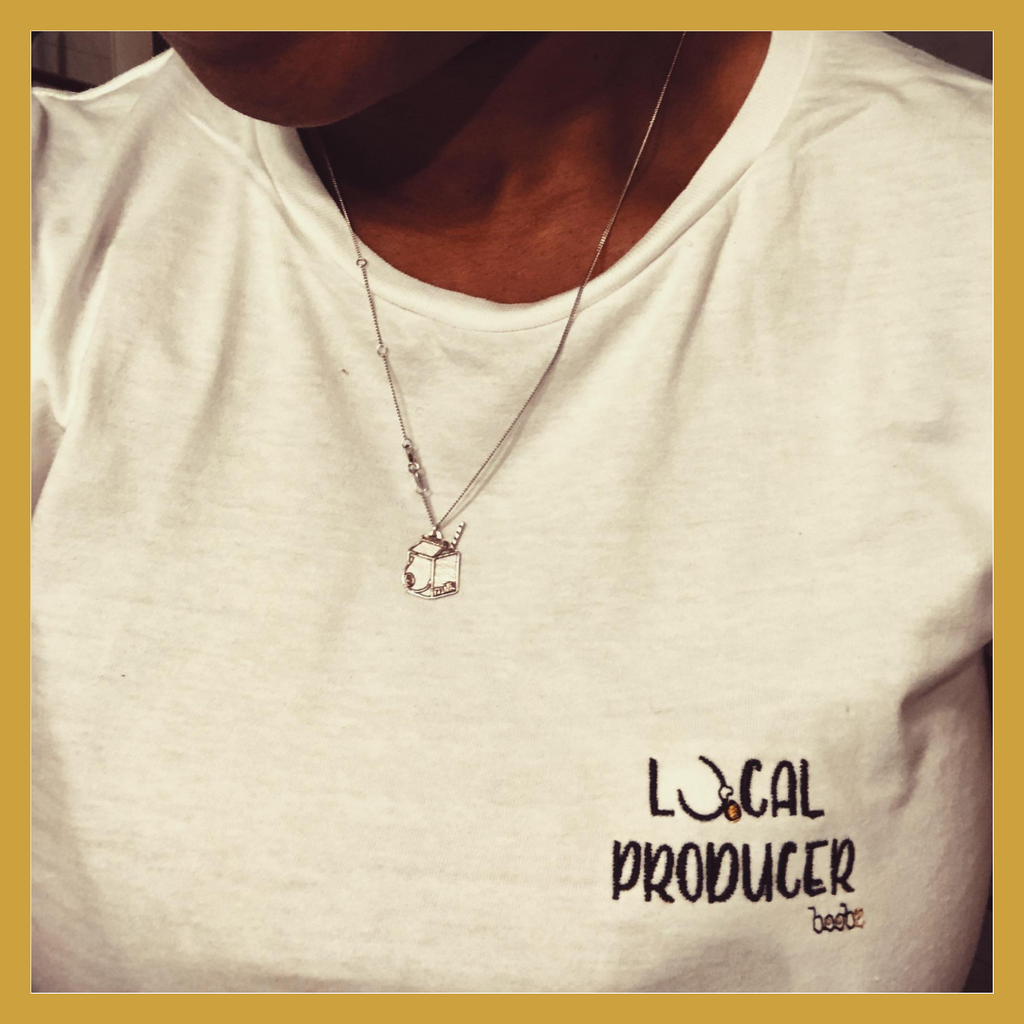 T-shirt brodé - LOCAL PRODUCER - Boobz Shop