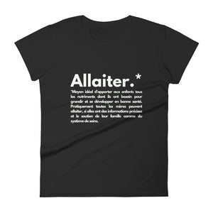 T-shirt - ALLAITER - Boobz Shop