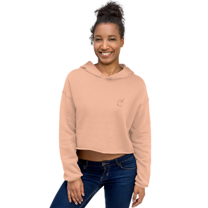 Sweatshirt à Capuche Crop-Top - LA BRIQUE