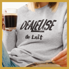 Sweatshirt - DEALEUSE DE LAIT - Boobz Shop