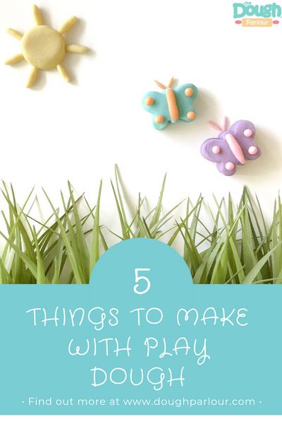top 5 things to make with play dough