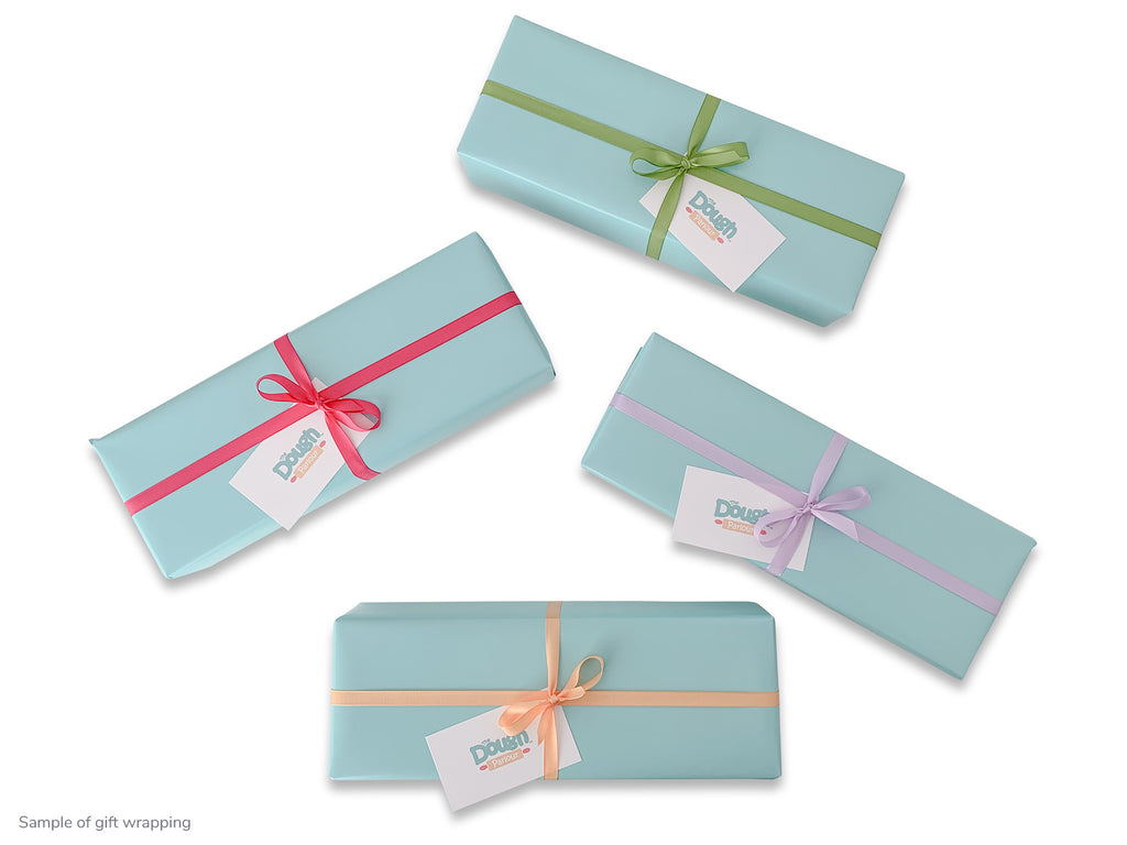 Sample of gift wrapping