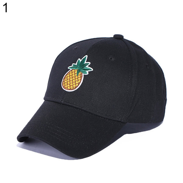 Cactus Pineapple Embroidery Dad Hat Fashion Unisex Baseball Cap