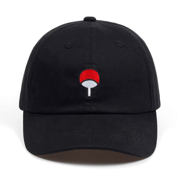 Black Uchiha Clan Black Snapback Hat