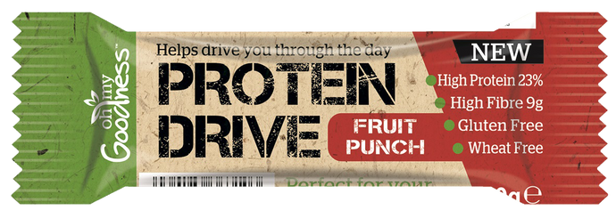 Gluten Free Protein Drive Bars Fruit Punch