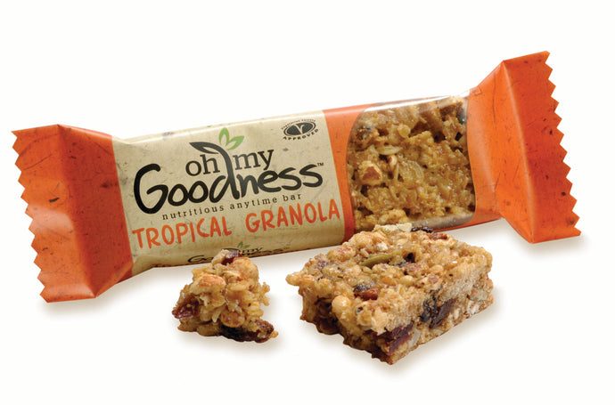 OMG Dairy & Nut Free Tropical Granola