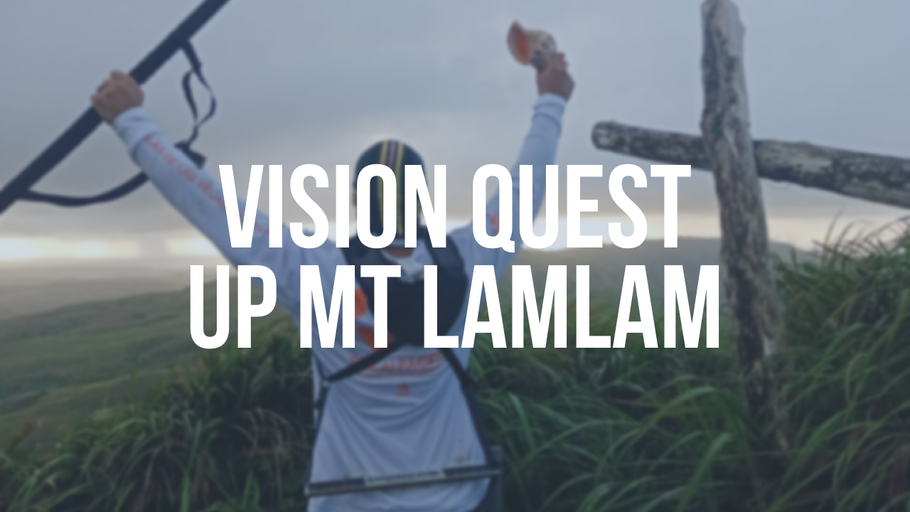 VISION QUEST Up Mt Lam Lam Guam w/ The Cranks!