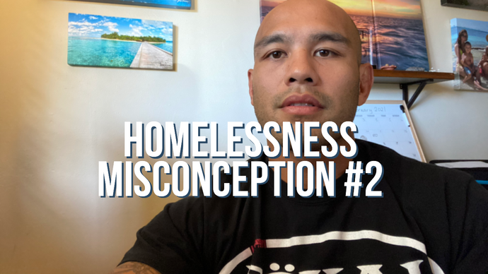 Homelessness Myth #2: People experiencing homelessness are lazy and should just get a job.