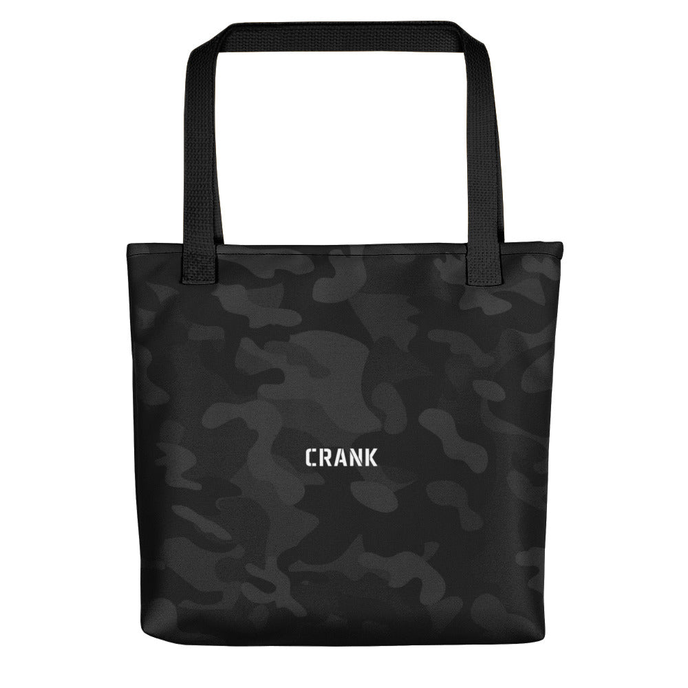 CRANK Black Camo Tote bag