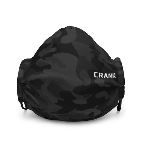CRANK COVID OUT Premium Reusable Face Mask