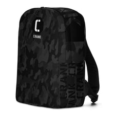 Load image into Gallery viewer, CRANK Black Camo Minimalist Backpack