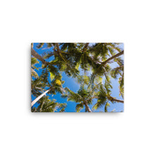 Load image into Gallery viewer, Marianas Trokon Niyuk View on the Hammock Canvas Print!! Sizes: 12×16, 16×20, 18×24, 24×36