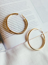 Load image into Gallery viewer, Alexia Satin Hoops