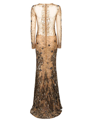 Panal Gown