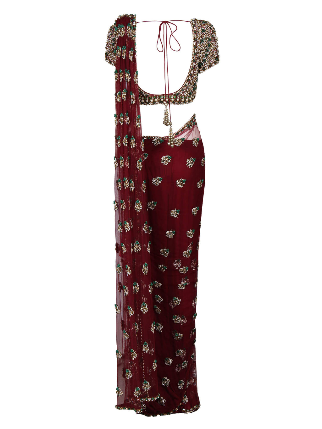 Bejewelled Saree