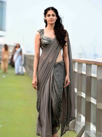 Gemstone Saree