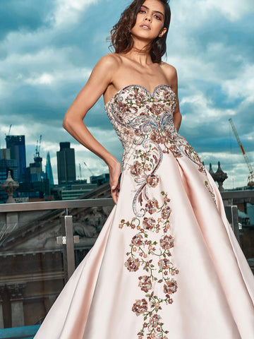 Isabel One Shoulder Gown