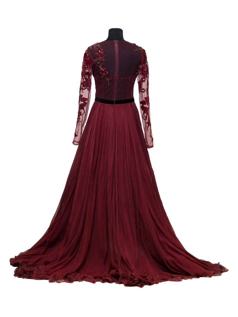 Rose Well Gown