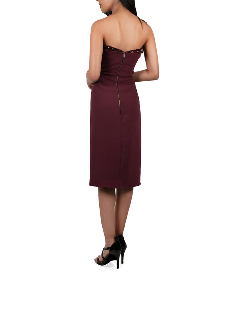 Bourgogne Dress