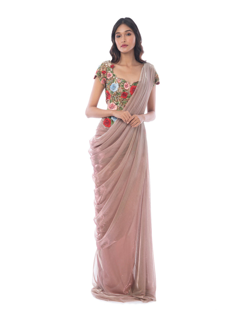 Rosso Gown