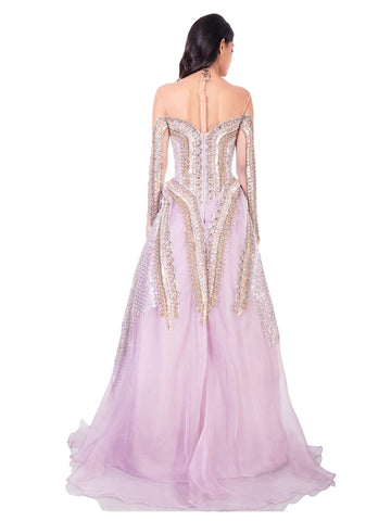 CRYSTAL MONK GOWN